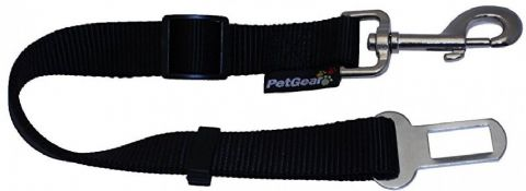 PET GEAR GENUINE DOG PUPPY CAR SEAT BELT TRAVEL ADJUSTABLE SAFETY CLIP 12160 L